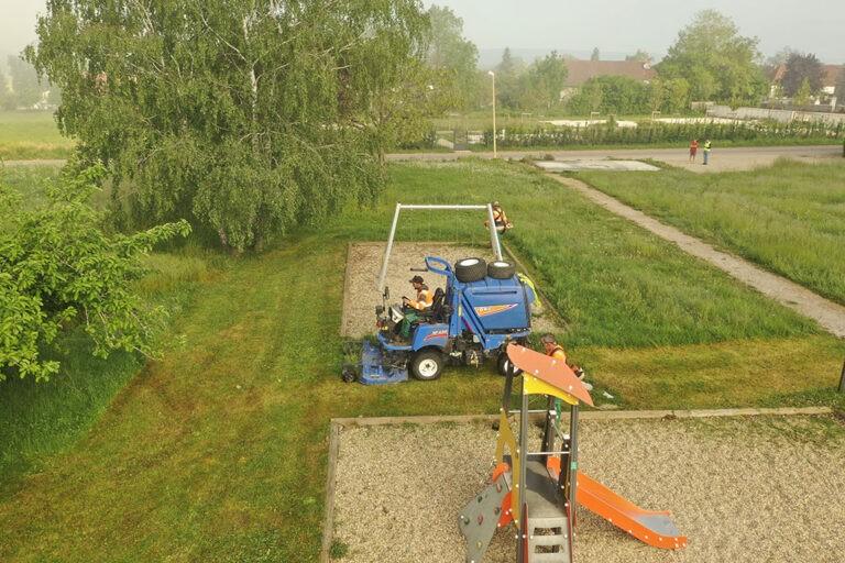 Entretien des espaces verts - Duc et Préneuf
