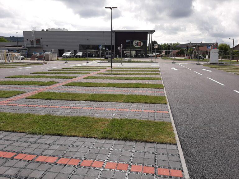 Parking végétalisé Nolay - Duc et Préneuf
